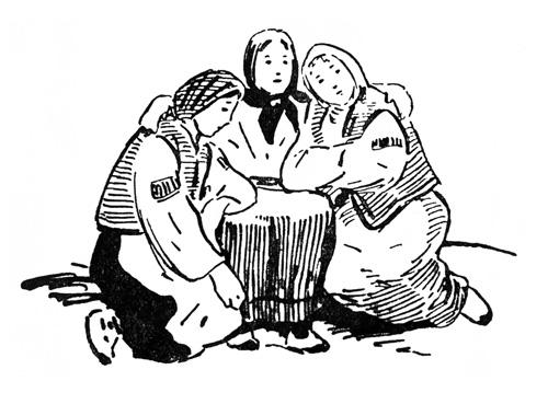 Нарисовать рисунок к сказке которую можно назвать наказание сестер